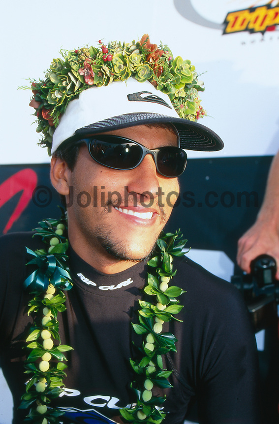 Christiano Spirro (BRA), 4th Rip Curl World Cup, Hawaii. 1998.photo:  joliphotos.com