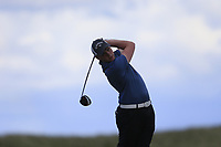 Robert Brazill (Naas) during the 2nd round of the East of Ireland championship, Co Louth Golf Club, Baltray, Co Louth, Ireland. 03/06/2017<br /> Picture: Golffile | Fran Caffrey<br /> <br /> <br /> All photo usage must carry mandatory copyright credit (&copy; Golffile | Fran Caffrey)