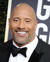 www.acepixs.com<br /> <br /> January 7 2018, LA<br /> <br /> Dwayne Johnson arriving at the 75th Annual Golden Globe Awards at The Beverly Hilton Hotel on January 7, 2018 in Beverly Hills, California.<br /> <br /> By Line: Peter West/ACE Pictures<br /> <br /> <br /> ACE Pictures Inc<br /> Tel: 6467670430<br /> Email: info@acepixs.com<br /> www.acepixs.com
