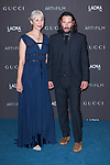 Beverly Hills, CA - NOVEMBER 02: Alexandra Grant and Keanu Reeves at the 2019 LACMA Art + Film Gala held at the Los Angeles County Museum of Art in Los Angeles, California on November 2nd, 2019. Credit: Tony Forte/MediaPunch