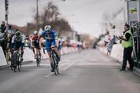 Florian SÉNÉCHAL (FRA/Deceuninck-Quick Step) wins the 51th Le Samyn 2019 <br /> <br /> Quaregnon to Dour (BEL): 200km<br /> <br /> ©kramon