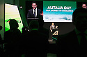 Cramer Ball, Managing director Alitalia, speaks at Alitalia Day, in Milan, May 19, 2016. &copy; Carlo Cerchioli<br /> Cramer Ball, Amministratore delegato Alitalia, parla all'evento Alitalia Day, Milano 19 Maggio 2016.