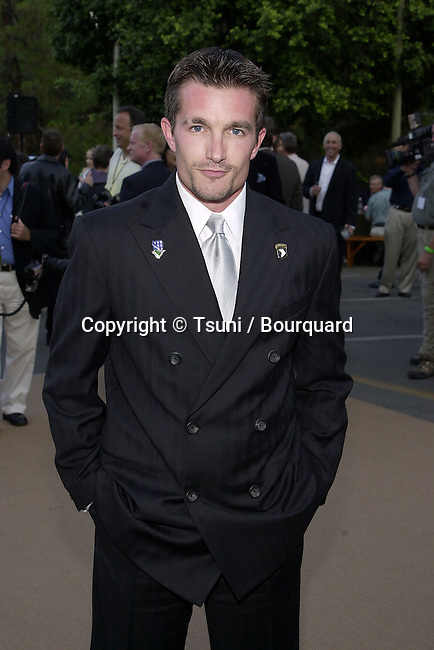Frank John Hughes arriving  at the premiere of Band of Brothers at the Hollywood Bowl in Los Angeles. August 29, 2001.  © Tsuni          -            HughesFrankJohn05.jpg