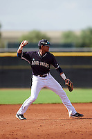 Seattle Mariners Christopher Torres (24) during an instructional league intrasquad game on October 6, 2015 at the Peoria Sports Complex in Peoria, Arizona.  (Mike Janes/Four Seam Images)