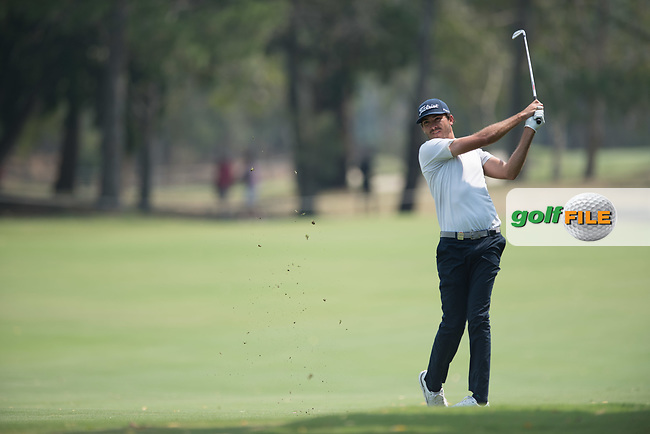 Matt Jager (NZL) during the final round of the Australian PGA Championship, Royal Pines Resort Golf Course, Benowa, Queensland, Australia. 02/12/2018<br /> Picture: Golffile | Anthony Powter<br /> <br /> <br /> All photo usage must carry mandatory copyright credit (&copy; Golffile | Anthony Powter)