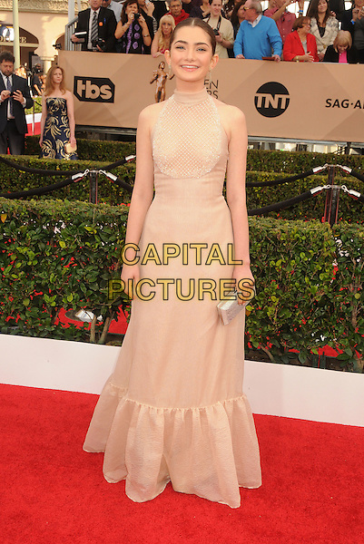 30 January 2016 - Los Angeles, California - Emily Robinson. 22nd Annual Screen Actors Guild Awards held at The Shrine Auditorium. <br /> CAP/ADM/BP<br /> &copy;BP/ADM/Capital Pictures