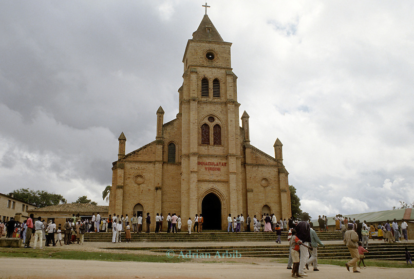 The church of the Immaculate virgin, Rwanda