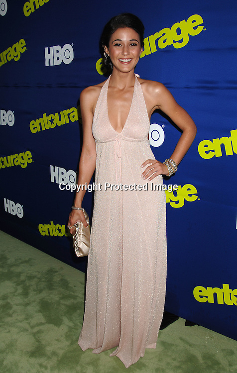 "Emmanuelle Chriqui..arriving at The New York Premiere of HBO's 3rd Season of ""Entourage"" on June 7, 2006 at Skirball Center for the Performing Arts at New York University. ..Robin Platzer, Twin Images"