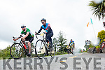 Cyclists passing Templenoe at the Ring of Kerry Charity Cycle on Saturday.
