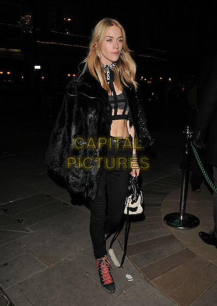 Lady Mary Charteris attends the LOVE magazine Christmas party, George Club, Mount Street, London, UK, on Friday 18 December 2015.<br /> CAP/CAN<br /> &copy;Can Nguyen/Capital Pictures
