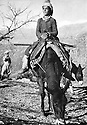 Iraq 1963 .Young Kurdish boy on his horse.Irak 1963.Jeune garcon kurde sur son cheval