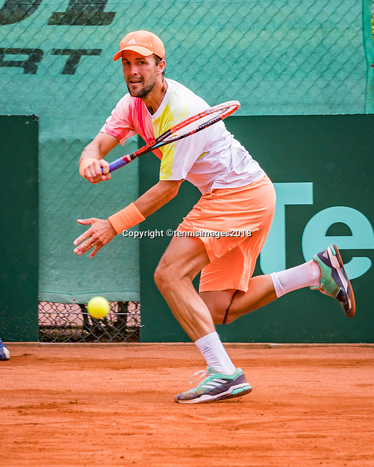 The Hague, Netherlands, 09 June, 2018, Tennis, Play-Offs Competition, Boy Westerhof (NED)<br /> Photo: Henk Koster/tennisimages.com
