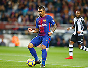 7th January 2018, Camp Nou, Barcelona, Spain; La Liga football, Barcelona versus Levante; Paulinho from FC Barcelona passing the ball