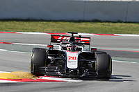 27th February 2020; Circuit De Barcelona Catalunya, Barcelona, Catalonia, Spain; Formula 1 2nd Pre season Testing Day Two; Haas F1 Team, Kevin Magnussen