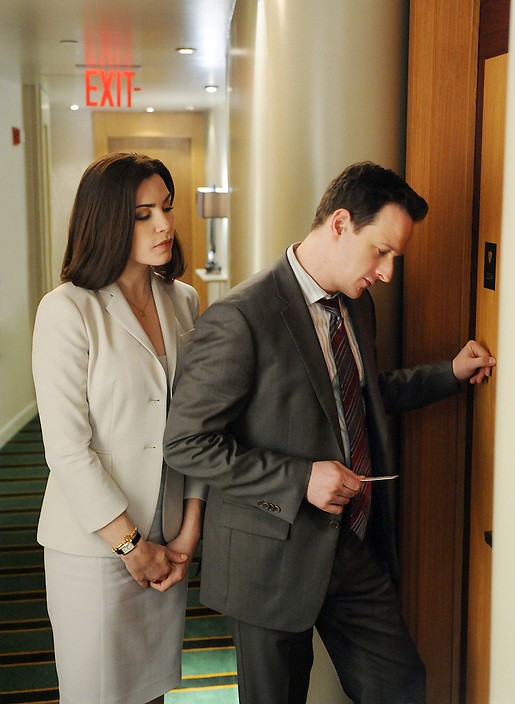 """Closing Arguments"" -- Despite their tense relationship, Alicia and Kalinda rush to prove their client's innocence in a murder trial, while the timing might be finally right for Alicia (Julianna Margulies) and Will (Josh Charles) to pursue their relationship, on the second season finale of THE GOOD WIFE, Tuesday, May 17 (10:00-11:00 PM, ET/PT) on the CBS Television Network. Photo: David M. Russell/CBS ©2011 CBS Broadcasting Inc. All Rights Reserved."