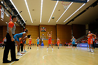 29th November 2019; Bendat Basketball Centre, Perth, Western Australia, Australia; Womens National Basketball League Australia, Perth Lynx versus Southside Flyers; Alison Schwagmeyer-Belger of the Perth Lynx takes a free throw - Editorial Use