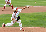 MIDDLETOWN, CT. 06 June 2018-060618BS581 - Wolcott's Dane Hassan (3) delivers a pitch from the mound  in relief during the CIAC Tournament Class M Semi-Final baseball game between Ledyard and Wolcott at Palmer Field on Wednesday afternoon. Wolcott beat Ledyard 9-4 and advances to the Class M final this weekend. Bill Shettle Republican-American