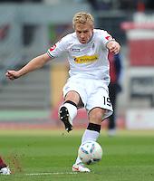 FUSSBALL   1. BUNDESLIGA  SAISON 2011/2012   24. Spieltag 1. FC Nuernberg - Borussia Moenchengladbach      04.03.2012 Mike Hanke (Borussia Moenchengladbach)
