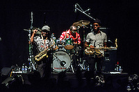 Skatalites performs during the Madgarden Festival Concert at the Royal Botanical Garden in Madrid 20