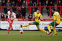 Luke Jones of Stevenage shoots<br />  - Stevenage v Stourbridge - FA Cup Round 2 - Lamex Stadium, Stevenage - 7th December, 2013<br />  © Kevin Coleman 2013
