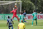 11.01.2019, Bidvest Stadion, Braampark, Johannesburg, RSA, FSP, SV Werder Bremen (GER) vs Bidvest Wits FC (ZA)<br /> <br /> im Bild / picture shows <br /> <br /> Ballanahme Thandani Ntshumayelo (Bidvest Wits FC #24) Stefanos Kapino (Werder Bremen #27) haelt  Marco Friedl (Werder Bremen #32)<br /> Milos Veljkovic (Werder Bremen #13)<br /> Foto © nordphoto / Kokenge