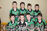 Community Games Indoor Soccer U13's: Taking part in the indoor soccer U13's  qualifiers at St Senan's Sports Hall, Mountcoal, Listowel on Sunday were  the .team representing Spa/Fenit/Barrow were Max Benner, Jack Kelliher, Karl Sheehy & Sean Mortimer. Back: Ryan Dolan, Sean Higgins, Alan McElligott & Sean Donnellan.