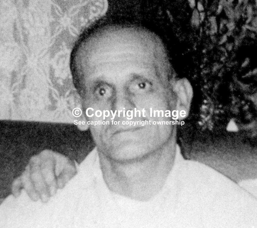 Alfred Acheson, 48, from North Belfast, who died in UVF gun attack, 3rd June 1973. For full information go to Lost Lives 864. 197306030342<br />