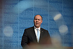 Josh Frydenberg, Australia's treasurer, speaks during the Post-Budget address at the Great Hall in Parliament House in Canberra, Australia, on Wednesday, April 3, 2019. Photographer: Mark Graham/Bloomberg