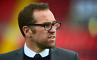 Crewe Alexandra manager David Artell during the pre-match warm-up<br /> <br /> Photographer Andrew Vaughan/CameraSport<br /> <br /> The EFL Sky Bet League Two - Lincoln City v Crewe Alexandra - Saturday 6th October 2018 - Sincil Bank - Lincoln<br /> <br /> World Copyright &copy; 2018 CameraSport. All rights reserved. 43 Linden Ave. Countesthorpe. Leicester. England. LE8 5PG - Tel: +44 (0) 116 277 4147 - admin@camerasport.com - www.camerasport.com