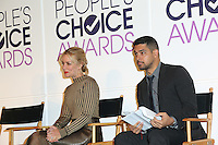 BEVERLY HILLS, CA - NOVEMBER 15: Piper Perabo, Wilmer Valderrama attend the People's Choice Awards Nominations Press Conference at The Paley Center for Media on November 15, 2016 in Beverly Hills, California. (Credit: Parisa Afsahi/MediaPunch).
