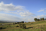 Golan Heights, the road to Ein Almin