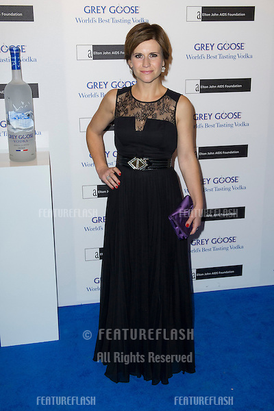 Harriet Scott arriving for the Grey Goose Ball 2012, Battersea Power Station, London. 10/11/2012 Picture by: Simon Burchell / Featureflash