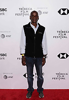 "NEW YORK CITY - APRIL 22: Tumeletso ""Water"" Setlabosha attends National Geographic's ""Into The Okavango"" Screening at Tribeca Film Festival at Tribeca Festival Hub on April 22, 2018 in New York City. (Photo by Anthony Behar/National Geographic/PictureGroup)"