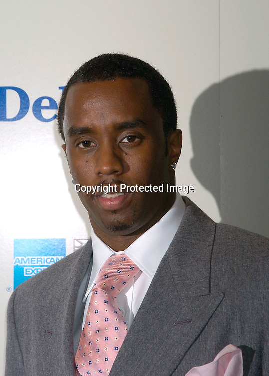 Sean P. Diddy Combs..at the 2003 New York Magazine Awards on December 15, 2003 at the Four Seasons Restaurant . Photo by Robin Platzer, Twin Images