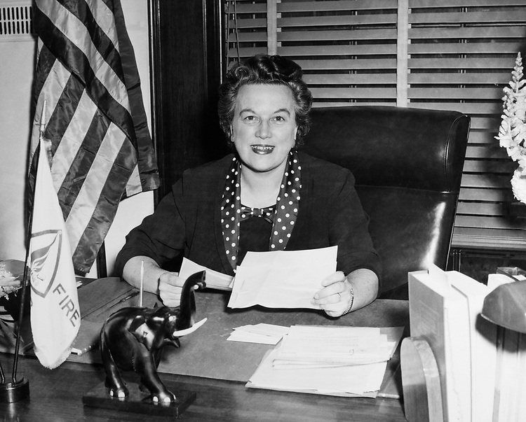 Rep. Catherine Dean May, R-Wash., in 1959 (Photo by CQ Roll Call)