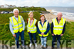 Hardworking volunteers of the Ballybunion Tidy Towns<br /> L to r: Noel Nash (Chairperson), Jackie Pierce, Pat O'Connor and Seamus O'Doherty.