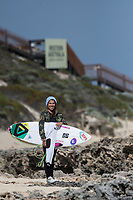 MARGARET RIVER, Western Australia/AUS (Thursday, April 12, 2018) Silvana Lima (BRA) - Day two of the Margaret River Pro, Stop No. 3 on the World Surf League (WSL) Championship Tour (CT), was called OFF due to onshore winds and small swell.   <br /> There is a large swell approaching Friday into Saturday, and then no shortage of residual swell in the following days.  Photo: joliphotos.com