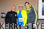 Participating in the  Kerins O'Rahillys 10k run Oggie Moran, John Higgins, David Higgins on sunday