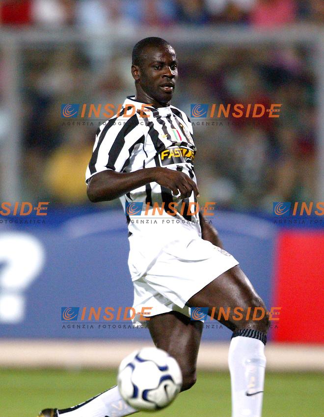 Ancona 12/08/2003<br /> Trofeo Tim - Tim Cup <br /> Liliam Thuram Juventus