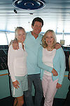 Guiding Light's Beth Chamberlin - Michael O'Leary - Tina Sloan - Day 5, August 4, 2010 - So Long Springfield at Sea - A Final Farewell To Guiding Light sets sail from NYC to St. John, New Brunwsick and Halifax, Nova Scotia from July 31 to August 5, 2010  aboard Carnival's Glory (Photos by Sue Coflin/Max Photos)