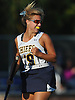 Sarah Whelan #19 of Massapequa reacts after scoring a goal in the first half of a Nassau County Conference I varsity field hockey match against Baldwin at Field of Dreams Park in Massapequa on Monday, Sept. 26, 2016. She tallied two goals in Massapequa's 5-0 win.