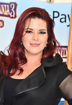 WESTWOOD, CA - JUNE 30: Alicia Machado attends the Columbia Pictures and Sony Pictures Animation's world premiere of 'Hotel Transylvania 3: Summer Vacation' at Regency Village Theatre on June 30, 2018 in Westwood, California.