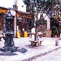 Visitors come from all over the world to visit the Shakespeare Bookshop near Notre Dame. It's a must do when visiting Paris.<br /> <br /> -Limited Edition of 50 Prints