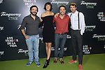 "Cristian Vazquez Belen Cuesta, Daniel Gizman and Jose Ballesta during the premiere of ""Los tragos de la vida"" directed by Daniel Guzman at Infanta Isable theatre in Madrid. October 05, 2016. (ALTERPHOTOS/Rodrigo Jimenez)"