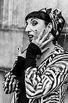 Rossy de Palma poses during a portrait session.