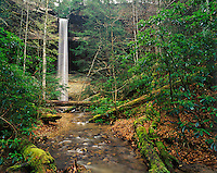 Yahoo Falls, Big South Fork National River and Recreation Area, Daniel Boone National Forest, Kentucky