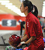Rebecca Lee of Syosset gets ready to roll a frame during the Nassau County varsity girls bowling large schools championship at AMF Garden City Lanes  on Saturday, Feb. 3, 2018.