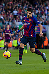 Luis Alberto Suarez Diaz of FC Barcelona in action during the La Liga 2018-19 match between FC Barcelona and Real Betis at Camp Nou, on November 11 2018 in Barcelona, Spain. Photo by Vicens Gimenez / Power Sport Images