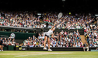 Agnieszka Radwanska<br /> <br /> Tennis - The Championships Wimbledon  - Grand Slam -  All England Lawn Tennis Club  2013 -  Wimbledon - London - United Kingdom -Saturday  2nd July 2013. <br /> &copy; AMN Images, 8 Cedar Court, Somerset Road, London, SW19 5HU<br /> Tel - +44 7843383012<br /> mfrey@advantagemedianet.com<br /> www.amnimages.photoshelter.com<br /> www.advantagemedianet.com<br /> www.tennishead.net
