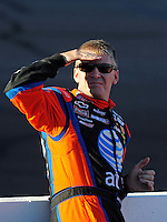 Nov. 7, 2008; Avondale, AZ, USA; NASCAR Sprint Cup Series driver Jeff Burton during qualifying for the Checker Auto Parts 500 at Phoenix International Raceway. Mandatory Credit: Mark J. Rebilas-